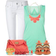 Summer Days. I NEED those sandals.
