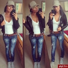 Image result for ballcap with dress outfit