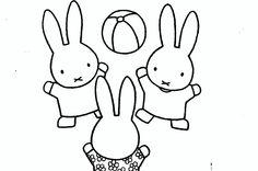 101 Beste Afbeeldingen Van Nijntje In 2019 Miffy Bunny