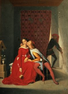 Gianciotto Discovers Paolo and Francesca Jean Auguste Dominique Ingres - Jean Auguste Dominique Ingres – Wikimedia Commons