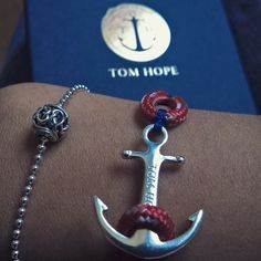 Anchors bracelet by Tom Hope and the new collection of Pandora #tomhope #anchors #pandora #charm #friendship