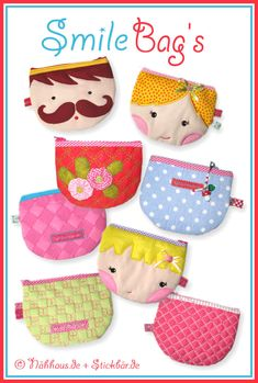 Der Stickbaer | Smilebags | Embroidery from heart