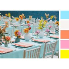 Pretty Pastels and Neon Florals