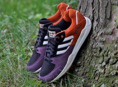 adidas Originals Tech Super 2.0 - Burgundy - Orange - SneakerNews.com
