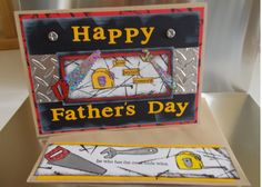 Happy Father's Day by Teribears - Cards and Paper Crafts at Splitcoaststampers Graduation Cards, Scrapbook Cards, Scrapbooking, Mother And Father, Masculine Cards, Happy Fathers Day, Handmade Crafts, Etsy Store, Cardmaking