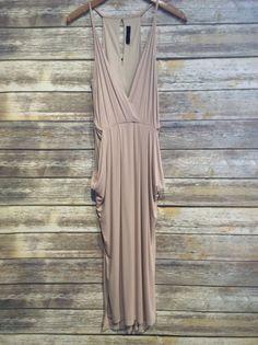 Loving this basic flows nude dress! #summerstyle #dresses #love #farmerjohns #farmerjohnsboutique #theboutiqueatfarmerjohns #fashion