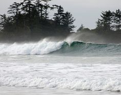 Winter storm watching is one of the attractions that draw visitors to Tofino.  Thinkstock photo