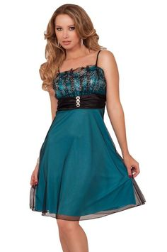 Amazon.com: Chic Sheer Lace Glitter Pleated Empire Waist Layered Evening Bridal Party Dress: Clothing
