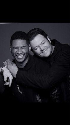 Usher & Blake Shelton