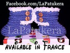 Chaussons bébé bottes Canada. Lana..  #Guild Product #GUILD_BABY