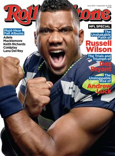 Russell Wilson Gives Inside Look At His Relationship With Ciara & Baby Future In Rolling Stone Cover Story + Dez Bryant Lands Cover Seahawks Fans, Seahawks Football, Best Football Team, Seattle Seahawks, Football Stuff, Ciara And Russell Wilson, Dez Bryant, Andrew Luck, 12th Man