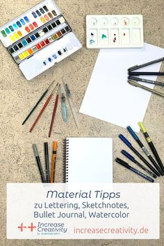 Bullet Journal Materials, Marker, Creativity, Challenges, Watercolor, 29 Days, Blogging, Stationery Store, Ring Binder