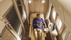 "'Zero-gravity seats & moisturizing sleepsuits': Emirates unveils luxury 1st class cabins https://tmbw.news/zero-gravity-seats-moisturizing-sleepsuits-emirates-unveils-luxury-1st-class-cabins Emirates Airlines has kicked off the biennial Dubai Air Show by unveiling its new fully-enclosed cabins for first class passengers on its Boeing 777-300 fleet.Described as a world first, the private suites on board the Emirates airliner boast a special ""zero-gravity"" reclining chair, a 32-inch digital…"