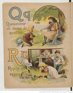 Alphabet Animé, Bernardin-Béchet & fils, 1890s?