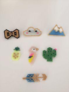 Broche Perroquet en perles Handmade Gift Idea par Mycurious