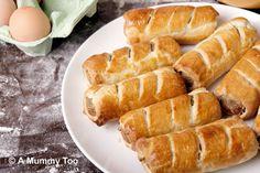 Quick vegetarian sausage rolls – perfect lunchbox recipe