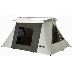 Offering Flex-Bow reliability, quality and heavy-duty durability with even more ventilation, the Kodiak Canvas® Flex-Bow VX Tent offers trustworthy Rain Fly, No Rain, Kodiak Tent, Canvas Wall Tent, Kodiak Canvas, Truck Tent, 2 Person Tent, Ceiling Materials, Lightweight Tent