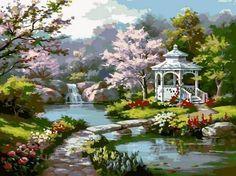 Risultati immagini per fantasy gardens