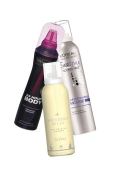 Give fine hair the illusion of volume with a mousse designed to add fullness and texture