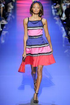 elie #saab spring / summer 2016 #paris #fashion #defile #couture #fw #ss16 #color #graphic