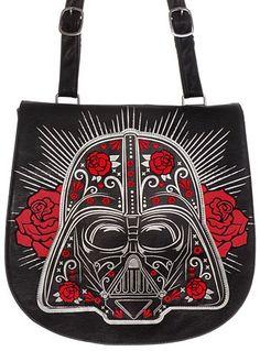 Darth Vader Roses Messenger Bag at PLASTICLAND