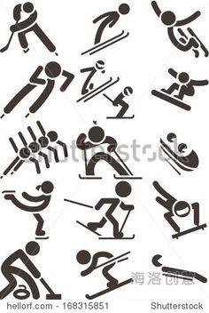 2014年冬季运动图标-符号/标志,运动/娱乐活动-海洛创意(HelloRF)-Shutterstock中国独家合作伙伴-正版素材在线交易平台-站酷旗下品牌