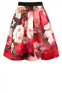 Ted Baker Floral Circle Skirt, £129