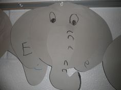 Elephants from Horton Hears a Who or Horton Hatches the Egg (Dr. Horton Hatches The Egg, Horton Hears A Who, Dr Suess, Door Ideas, Elephants, Preschool, Boards, Club, Teaching
