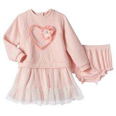 Baby Girl Nannette Tulle Sweaterdress