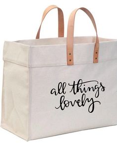 Best 12 On Sale! All Things Lovely/ Big canvas tote / Canvas big tote / Daily womens bag / Everyday canvas bag / cotton womens bag / womens everyday bag / ca My Bags, Purses And Bags, Diy Tote Bag, Fabric Bags, Everyday Bag, Shopper Bag, Vintage Bags, Cotton Bag, Canvas Tote Bags