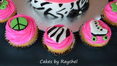 My Creative Way: Peace, Love & Roller Skate Cake and Cupcakes. Sweet Friday