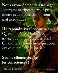 Seul le silence secoue les consciences