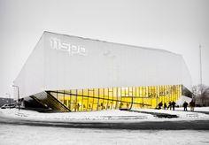 Спортивный комплекс Almelo IISPA от Koppert+Koenis Architecten. Алмело, Нидерланды.   Архитектура и дизайн   Архиновости