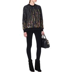 GIVENCHY Sequin-print sweatshirt (Black
