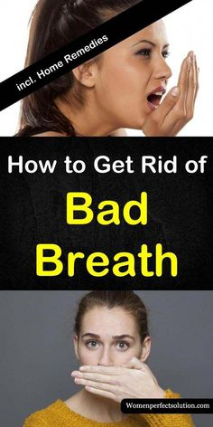 How to get rid of bad breath with 7 home remedies. Detailed article with information on what causes bad breath - Halitosis. Including remedy tips from essential oils baking soda cinnamon water and apple cider vinegar. Forme Fitness, Fitness Gym, Health Fitness, Fitness Life, Nutrition Education, How To Get Rid, How To Remove, Bad Breath, Teeth Whitening