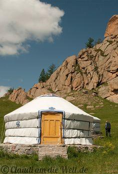 Mongolei: Jurte Nr. 42