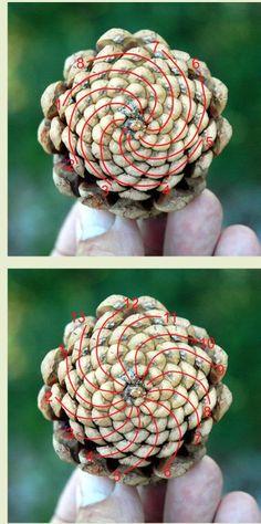 FIBONACCI. Surely I could incorporate pine cones into a game.
