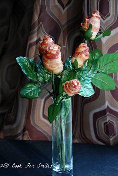 Bacon Flower Bouquet