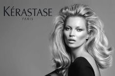 Kate Moss full of volume for Kerastase- #bianchissalon #bianchisbighair #loxextensions