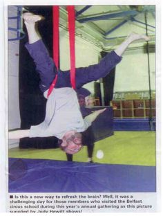 Circus School - Hanging