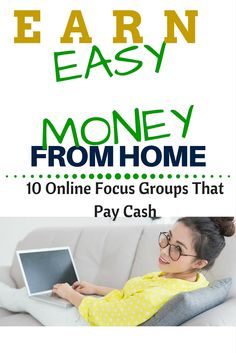 Make easy money in your spare time giving feedback. It's one of the simplest ways to make money from home.