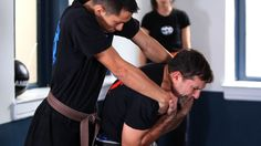 How to Defend against a Choke Hold from the Rear in Krav Maga