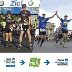 """Skate to Run – Inline skating makes you a better runner"" Berlin Marathon, Inline Skating, How To Run Faster, Skate, Bmw, Running, Roller Blading, Keep Running, Why I Run"