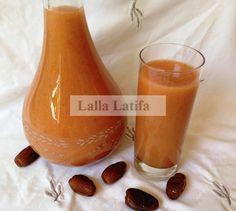 Les secrets de cuisine par Lalla Latifa -   Jus aux dattes et aux fruits au Thermomix