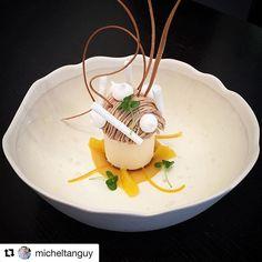Un grand merci à toi @micheltanguy pour cette belle photo à bientôt #repost #pastry #yannicktranchant #cheflife #chefstalk .