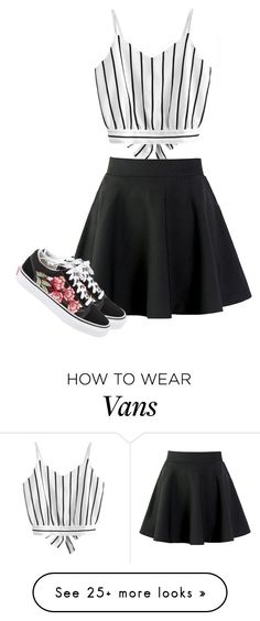 """Untitled #153"" by cyan58 on Polyvore featuring Vans"