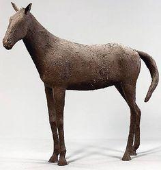 Deborah Butterfield, Mud Straw Horse