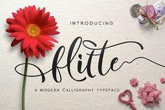 Flitte Script Typefa