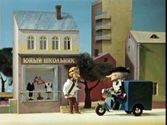 Cheburashka and friends