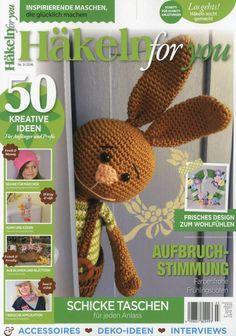 Häkelanleitungen - ★★Häkeln for you + gratis 50g Baumwolle★★ - ein Designerstück von Lieblingsmaschen bei DaWanda